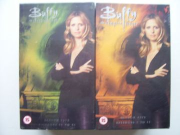 Buffy the Vampire Collection  Box Sets New and Sealed